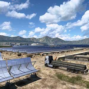 Euro Truck Simulator 2 Iberia Pannelli solari