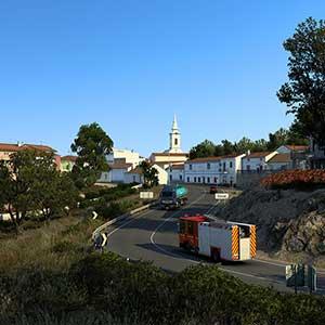 Euro Truck Simulator 2 Iberia Città