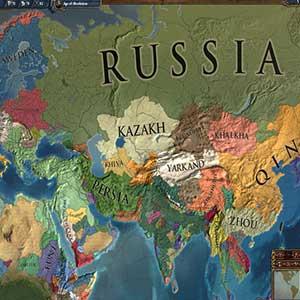 Europa Universalis IV - mappa