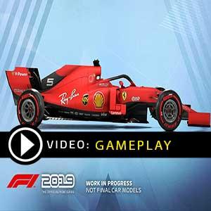 F1 2019 video di gioco