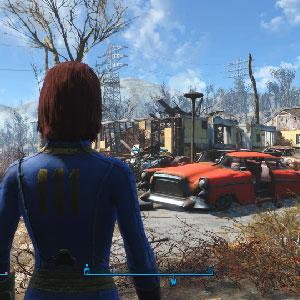 Fallout 4 - Personaggio