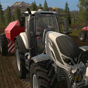 Farming Simulator 17 Trattore Valtra T-Series Cow Edition