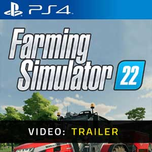 Farming Simulator 22 PS4 Video Trailer