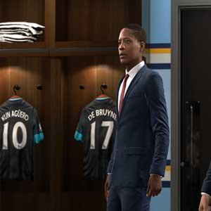 FIFA 17 Lo spogliatoio dei giocatori
