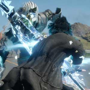 Fantasy 15 PS4 Combattendo