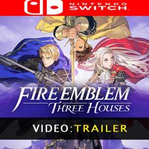 Video del trailer di Fire Emblem Three Houses