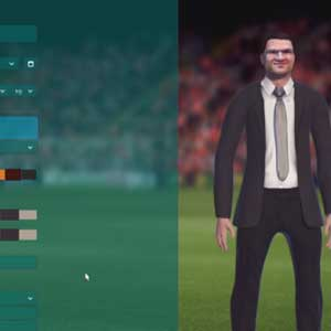 Football Manager 2017 Un'immagine di un manager avatar