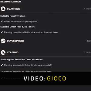 Football Manager 2022 Video Di Gioco