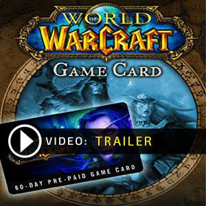 Buy Gamecard World Of Warcraft 60 Days Prepaid Time Card Europe