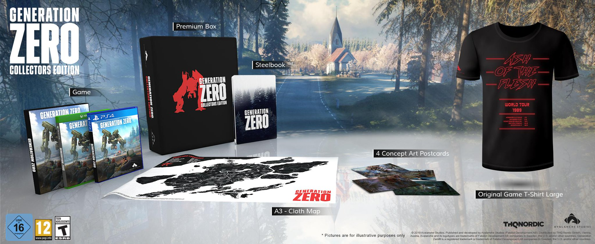 Generation Zero Collector's Edition