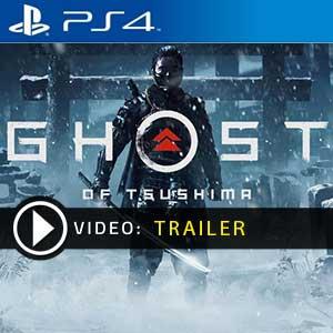 Video del trailer di Ghost of Tsushima