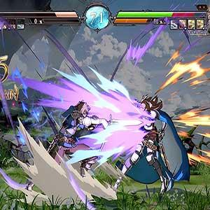 Granblue Fantasy Versus Gran contro Katalina
