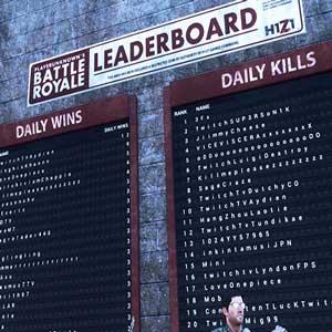 H1Z1 King of the Kill Classifica