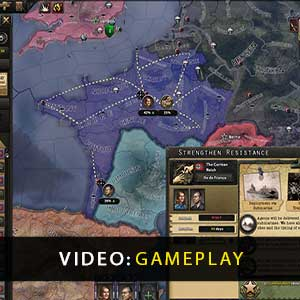 Hearts of Iron 4 La Resistance Gameplay Video
