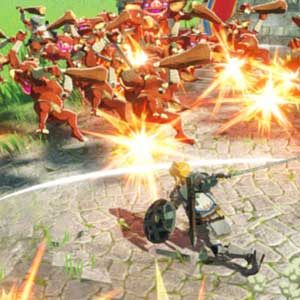 Hyrule Warriors Age of Calamity Attacco