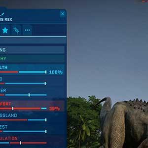 Statistiche dei dinosauri