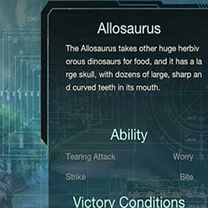 Profilo del dinosauro