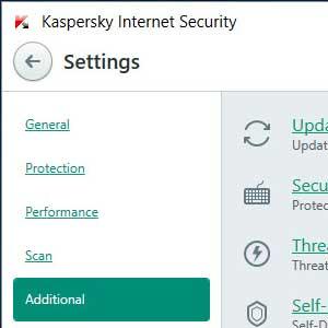 Kaspersky Anti Virus 2019 ulteriore