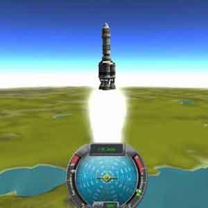 Kerbal Space Lancio di un razzo