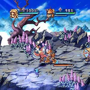 Legend of Mana Combattimento