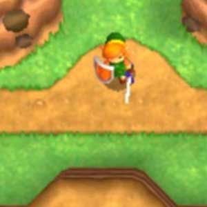 Legend of Zelda A Link between Worlds 3DS Carattere