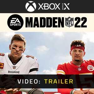 Madden NFL 22 Xbox Series X Video Trailer