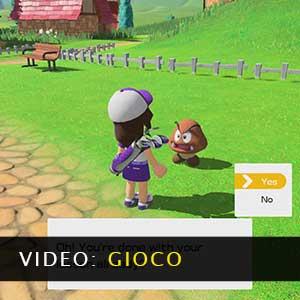Mario Golf Super Rush Video di gioco