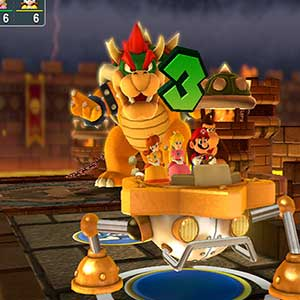 fire-breathing Bowser
