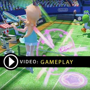 Mario Tennis Ultra Smash Nintendo Wii U Gameplay Video