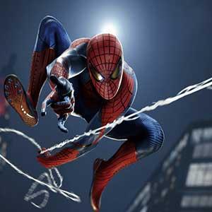 Marvel's Spider-Man Remastered PS5 Ragnatela Che Oscilla