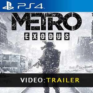 Metro Exodus PS4 Video Trailer