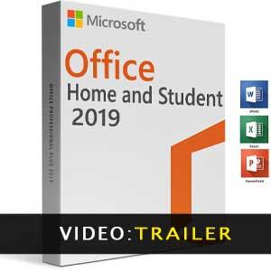 Video del trailer di Microsoft Office Home & Student 2019