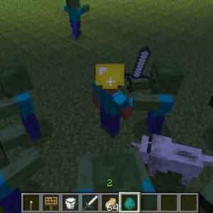 Minecraft Combattere zombie