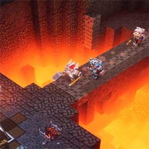 Minecraft Dungeons Fucina Ardente