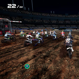 Monster Energy Supercross 4 Terreno