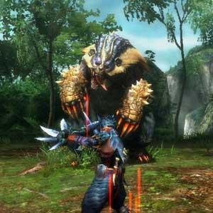 Monster Hunter 3 Ultimate Nintendo Wii U Combattimento