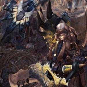 Combatti mostri giganteschi in ambientazioni epiche