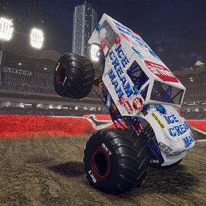 Monster Jam Steel Titans 2 Camion del mostro dell uomo del gelato