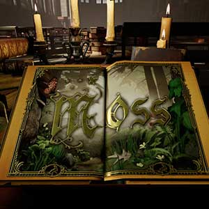 Moss story book