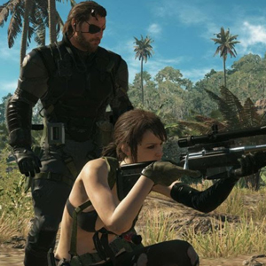 Metal Gear Solid 5 The Phantom Pain - Venom Snake
