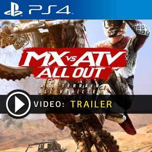 Acquistare PS4 Codice MX vs ATV All Out Confrontare Prezzi