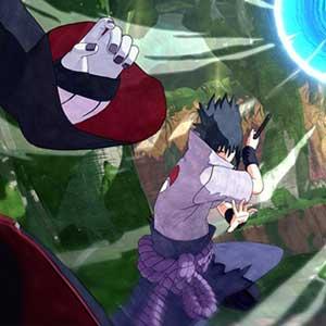 ninja che combattono contemporaneamente