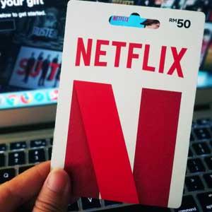Tagli Netflix Gift Card