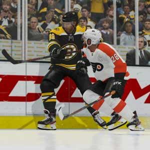 NHL 21 Boston Bruins contro Philadelphia Flyers