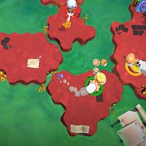 overworld mappa per terra, mare e aria