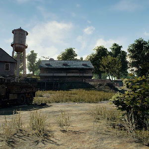 Playerunknowns Battlegrounds Ampio campo di battaglia