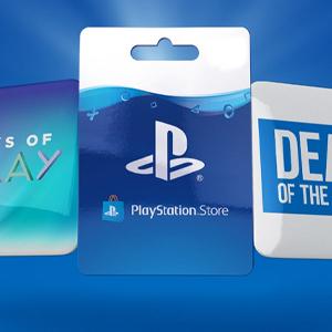 Playstation Gift Card L affare della settimana