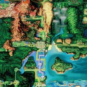 Pokemon Alpha Sapphire Nintendo 3DS Mappa
