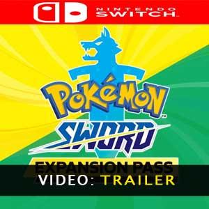 Video del trailer del Pokémon Sword Expansion Pass