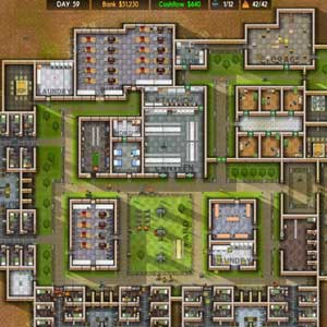 Prison Architect Cruscotto